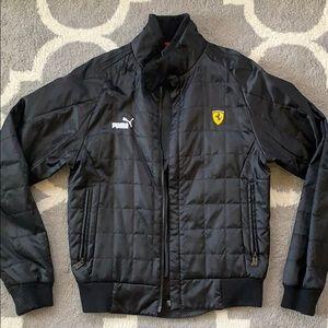 Puma ferrari bomber jacket
